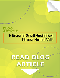 5 Reasons Small Businesses Choose Hosted VoIP