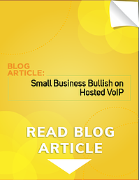 Small Business Bullish on Hosted VoIP