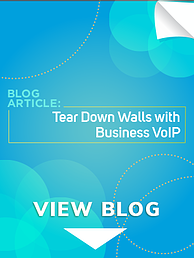 Tear Down Walls with Hosted VoIP